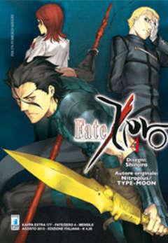 Copertina FATE/ZERO n.4 - FATE/ZERO 4, STAR COMICS