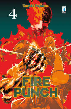 Copertina FIRE PUNCH n.4 - FIRE PUNCH, STAR COMICS