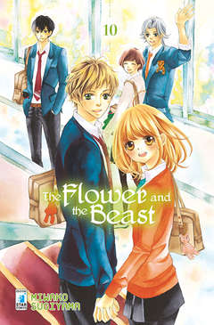 Copertina FLOWER AND THE BEAST n.10 - FLOWER AND THE BEAST (m10), STAR COMICS