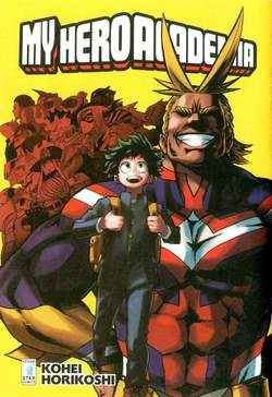 Copertina FREE COMIC BOOK DAYS 2017 n.1 - MY HERO ACADEMIA, STAR COMICS