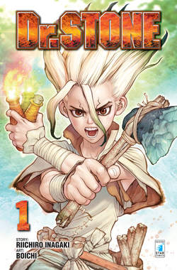 Copertina FREE COMIC BOOK DAYS 2018 n.1 - DR. STONE 1, STAR COMICS