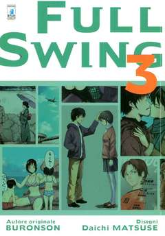 Copertina FULL SWING n.3 - FULL SWING 3 (m5), STAR COMICS