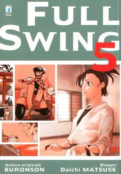 Copertina FULL SWING n.5 - FULL SWING 5, STAR COMICS