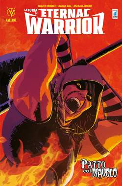 Copertina FURIA DI ETERNAL WARRIOR (m3) n.3 - PATTO COL DIAVOLO, STAR COMICS