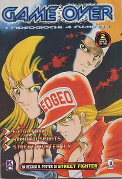 Copertina GAME OVER n.2 - I VIDEOGIOCHI A FUMETTI, STAR COMICS