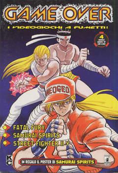 Copertina GAME OVER n.4 - I VIDEOGIOCHI A FUMETTI, STAR COMICS