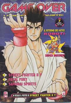 Copertina GAME OVER n.7 - I VIDEOGIOCHI A FUMETTI, STAR COMICS