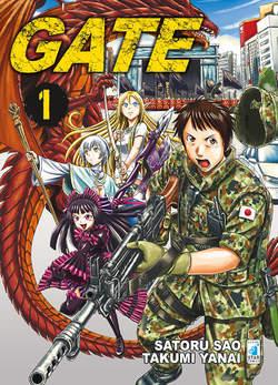 Copertina GATE n.1 - GATE 1, STAR COMICS