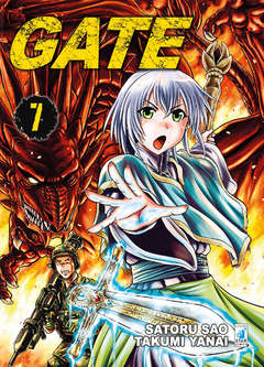 Copertina GATE n.7 - GATE 7, STAR COMICS