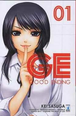Copertina GE GOOD ENDING n.1 - GE GOOD ENDING (m16), STAR COMICS