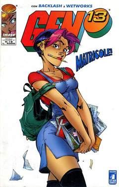 Copertina GEN 13 n.18 - MATRICOLE!, STAR COMICS