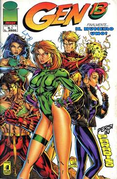 STAR COMICS - GEN 13