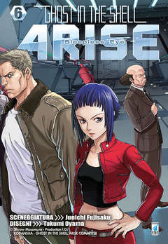 Copertina GHOST IN THE SHELL n.14 - GHOST IN THE SHELL ARISE 6, STAR COMICS