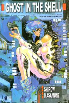 Copertina GHOST IN THE SHELL n.1 - GHOST IN THE SHELL 1 - EDIZIONE SPECIALE, STAR COMICS
