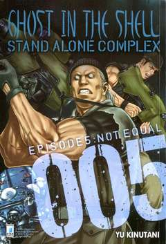 Copertina GHOST IN THE SHELL n.8 - GHOST IN THE SHELL STAND ALONE COMPLEX 5, STAR COMICS
