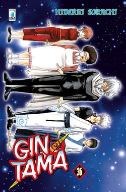 Copertina GINTAMA n.36 - GINTAMA, STAR COMICS