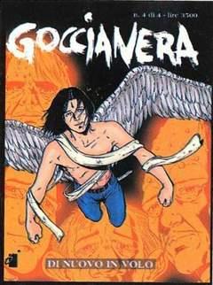 Copertina GOCCIANERA n.4 - DI NUOVO IN VOLO, STAR COMICS