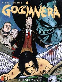 Copertina GOCCIANERA n.2 - GOCCIA NERA 2, STAR COMICS