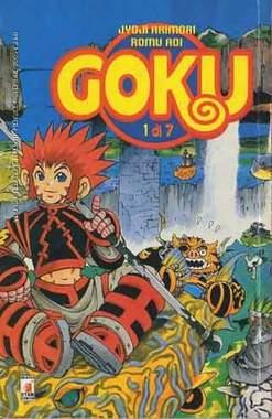 Copertina GOKU n.1 - GOKU 1 (m7), STAR COMICS