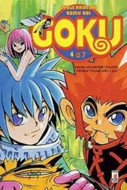 Copertina GOKU n.4 - GOKU 4 (DI 7), STAR COMICS