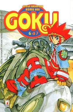 Copertina GOKU n.6 - GOKU 6 (DI 7), STAR COMICS