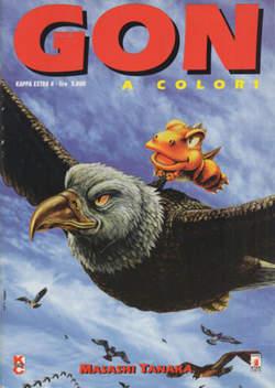 Copertina GON A COLORI n.4 - GON A COLORI, STAR COMICS