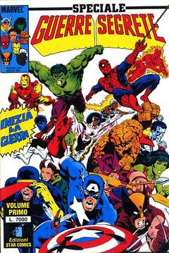 Copertina GUERRE SEGRETE n.66 - SERIE COMPLETA, GUERRE SEGRETE 1/3, STAR COMICS