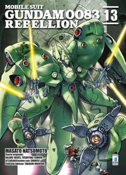 Copertina GUNDAM 0083 REBELLION n.13 - GUNDAM UNIVERSE 77, STAR COMICS