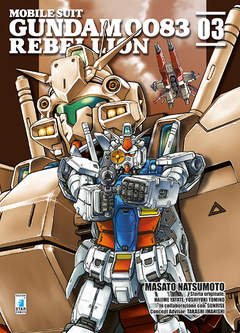 Copertina GUNDAM 0083 REBELLION n.3 - GUNDAM 0083 REBELLION, STAR COMICS