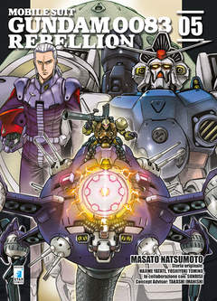 Copertina GUNDAM 0083 REBELLION n.5 - GUNDAM 0083 REBELLION, STAR COMICS