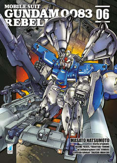 Copertina GUNDAM 0083 REBELLION n.6 - GUNDAM 0083 REBELLION, STAR COMICS