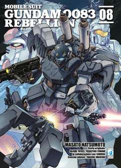 Copertina GUNDAM 0083 REBELLION n.8 - GUNDAM 0083 REBELLION, STAR COMICS