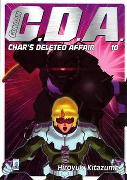 Copertina GUNDAM C.D.A. n.10 - GUNDAM C.D.A. (m14), STAR COMICS