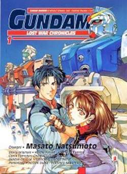 Copertina GUNDAM LOST WAR CHRONICLES n.1 - LOST WAR CHRONICLES, STAR COMICS