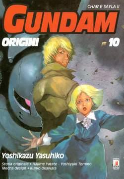 Copertina GUNDAM ORIGINI n.10 - LE ORIGINI 10, STAR COMICS