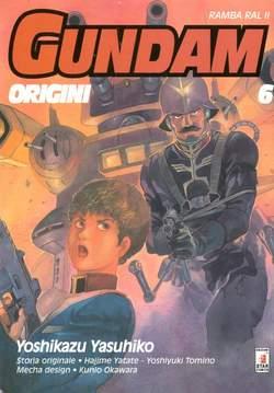 Copertina GUNDAM ORIGINI n.6 - LE ORIGINI 6, STAR COMICS
