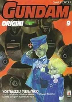 Copertina GUNDAM ORIGINI n.9 - LE ORIGINI 9, STAR COMICS