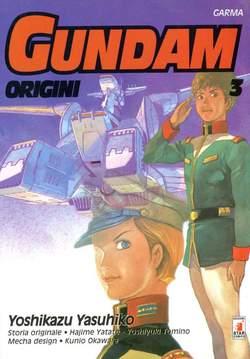 Copertina GUNDAM ORIGINI n.3 - LE ORIGINI 3, STAR COMICS