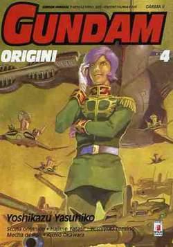 Copertina GUNDAM ORIGINI n.4 - LE ORIGINI 4, STAR COMICS