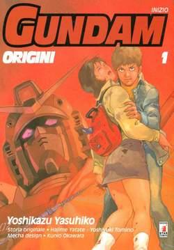 Copertina GUNDAM ORIGINI n.1 - LE ORIGINI 1 UC 0079, STAR COMICS