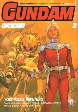 Copertina GUNDAM ORIGINI n.2 - LE ORIGINI 2 UC 0079, STAR COMICS