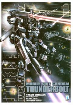 Copertina GUNDAM THUNDERBOLT n.1 - GUNDAM THUNDERBOLT, STAR COMICS