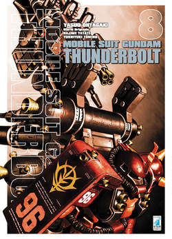 Copertina GUNDAM THUNDERBOLT n.8 - GUNDAM THUNDERBOLT, STAR COMICS