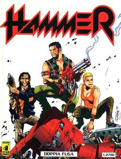 Copertina HAMMER n.1 - HAMMER                       1, STAR COMICS
