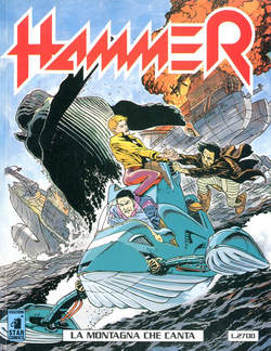 Copertina HAMMER n.4 - HAMMER                       4, STAR COMICS