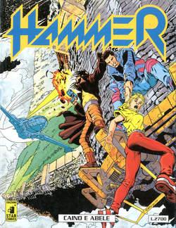 Copertina HAMMER n.5 - HAMMER                       5, STAR COMICS