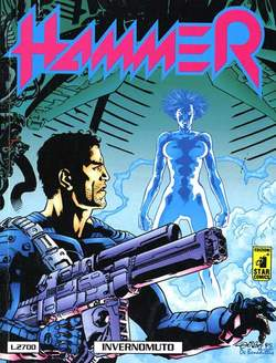 Copertina HAMMER n.6 - HAMMER                       6, STAR COMICS