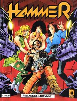 Copertina HAMMER n.7 - HAMMER                       7, STAR COMICS