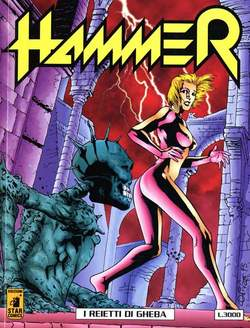 Copertina HAMMER n.8 - HAMMER                       8, STAR COMICS