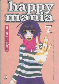 Copertina HAPPY MANIA n.7 - HAPPY MANIA 7 (DI 11), STAR COMICS